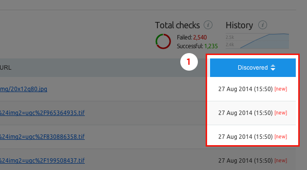 """SEMrush: Site Audit's News: View the """"first time seen"""" date for every issue and estimate the audit's duration image 1"""