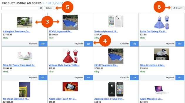 SEMrush: Discover the New Product Listing Ad Copies report! image 2