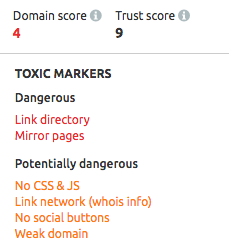 SEMrush: The Backlink Audit Tool Made Easy: Yet Another New SEMrush Tool image 4