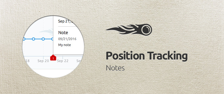 SEMrush: Position Tracking: Notes 画像 1