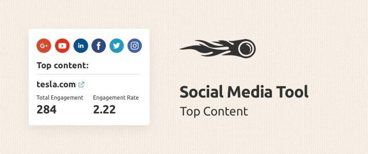 SEMrush : The Social Media Tool Brings Out the Best Content! image 1