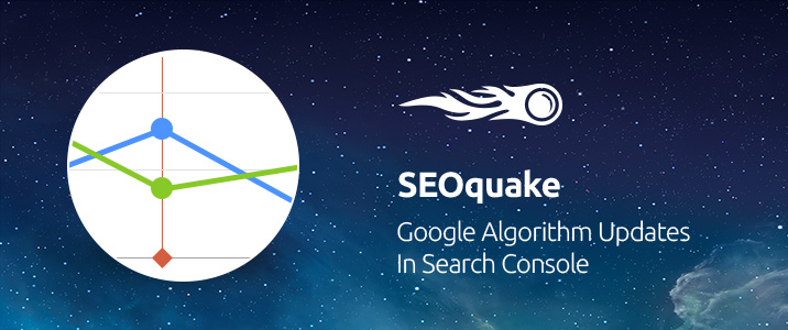 SEMrush: SEOquake: Google Algorithm Updates in Search Console bild 1