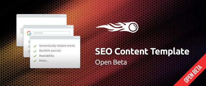 SEMrush: SEO Templates for Content in One Click 画像 1