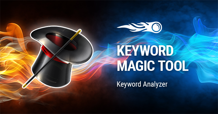 SEMrush: Keyword Magic: Keyword Analyzer imagem 1