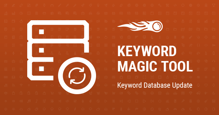 SEMrush: Keyword Magic Tool: Noch mehr Keywords in allen Datenbanken bild 1