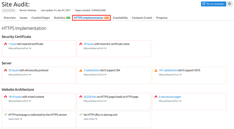 Complete HTTPS Implementation report
