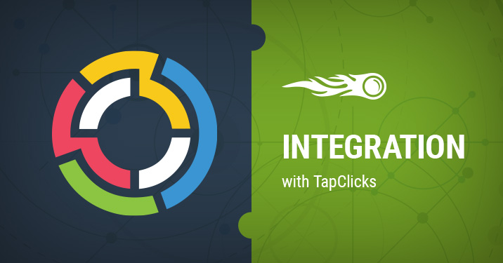 SEMrush integration with TapClicks banner