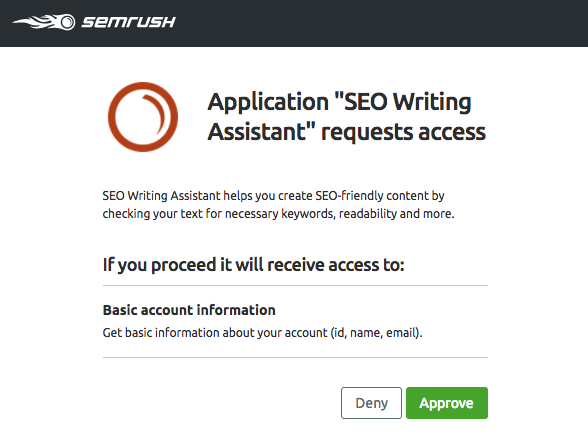 SEO writing assistant how to get started third step