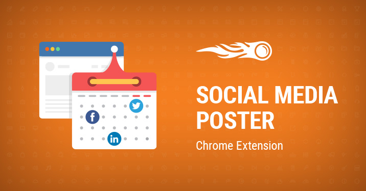 Social Media Poster Chrome extension banner