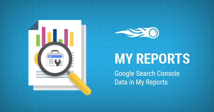 My reports GSC banner