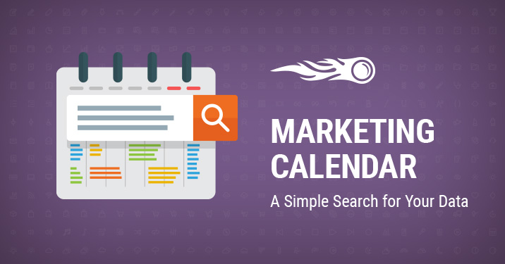 Marketing Calendar search banner