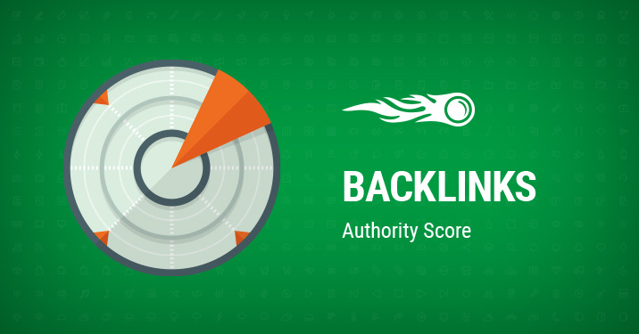 SEMrush : Backlinks : Authority Score image 1