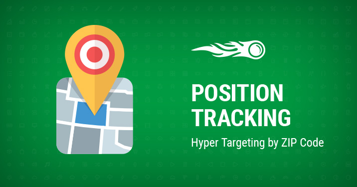 Position tracking banner