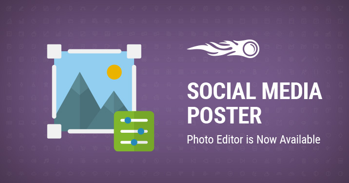 SEMrush: Photo Editor in the Social Media Poster изображение 1