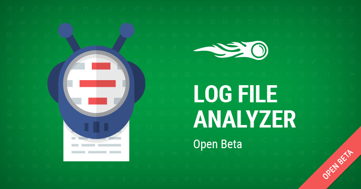 log file analyzer banner