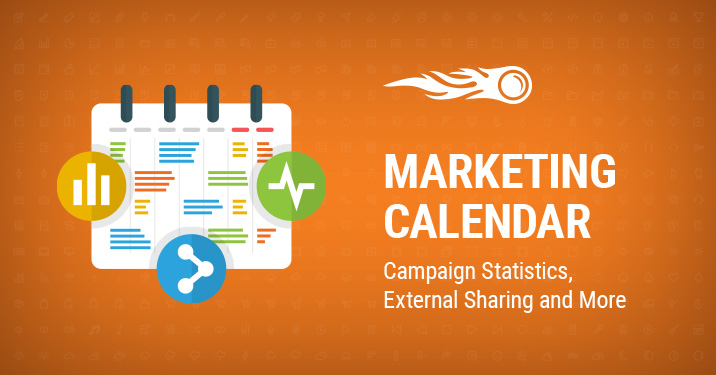 marketing calendar banner