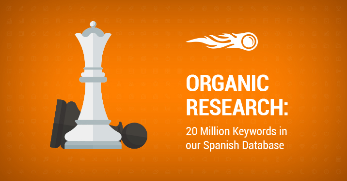 SEMrush: Organic Research: 20 Million Keywords in our Spanish Database image 1
