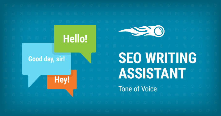 SEMrush: SEO Writing Assistant: Tone of Voice bild 1