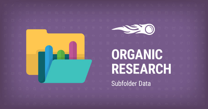 Organic Research subfolder data banner