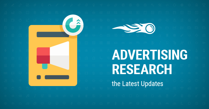 Advertising Research update newsletter featured image