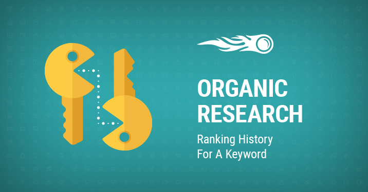 Organic Research: Ranking History For A Keyword