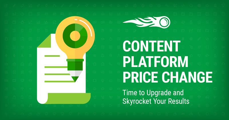 SEMrush Content Platform - New Pricing in October banner