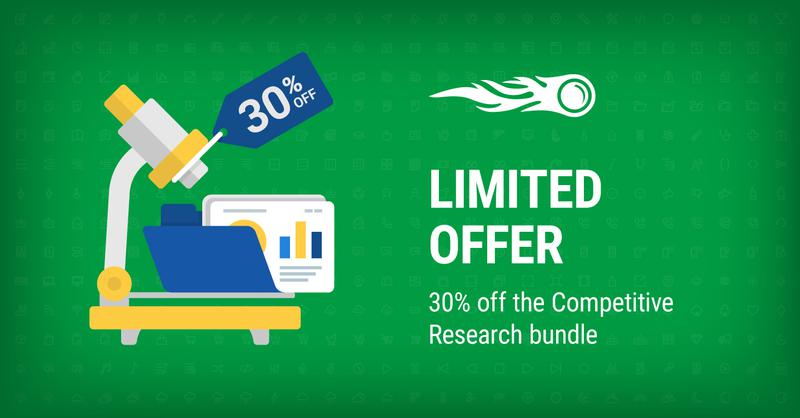 SEMrush: Until November 12th, Get SEMrush for Competitive Research at a 30% Discount 画像 1