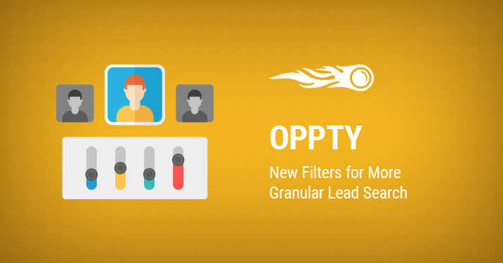SEMrush: Oppty: New Filters for More Granular Lead Search bild 1