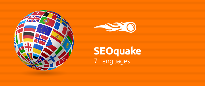 SEMrush: SEOquake: 7 Languages 画像 1