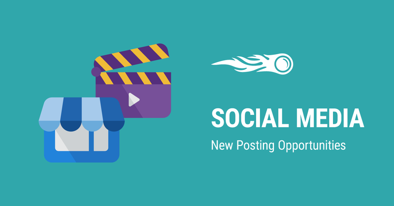 New Posting Opportunities in the Social Media Tool