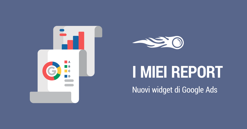 I miei report banner