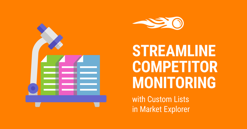 SEMrush: Streamline Competitor Monitoring in Regional Markets and Business Niches image 1