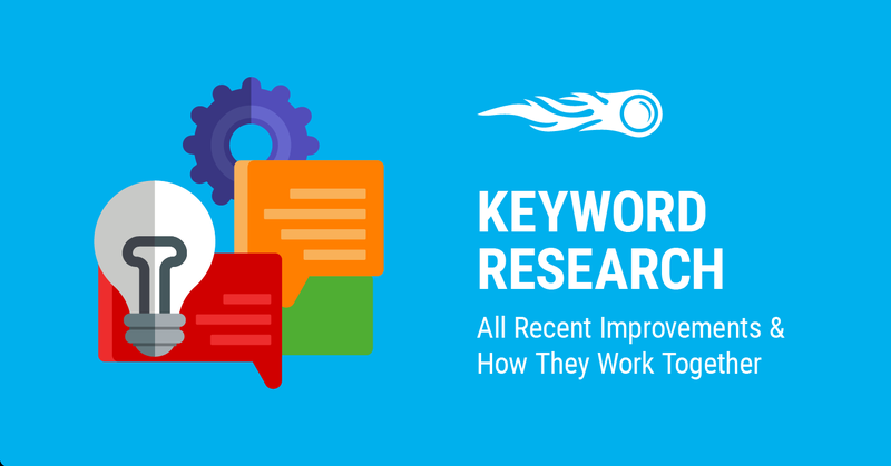 SEMrush keyword research tools in one ecosystem