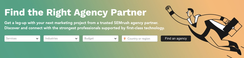 SEMrush Agency Partners Platform