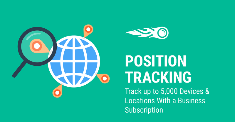 SEMrush: Track up to 5,000 Devices & Locations With a Business Subscription immagine 1