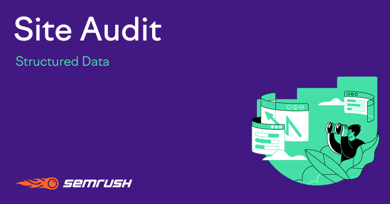 SEMrush: Site Audit: Structured Data imagem 1