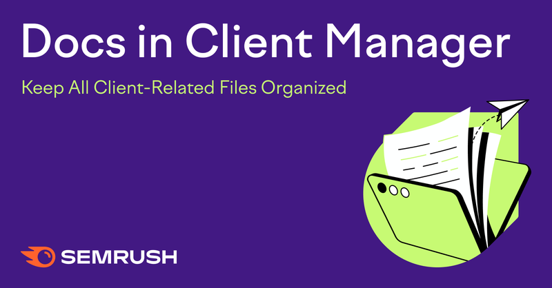File storage in client management software