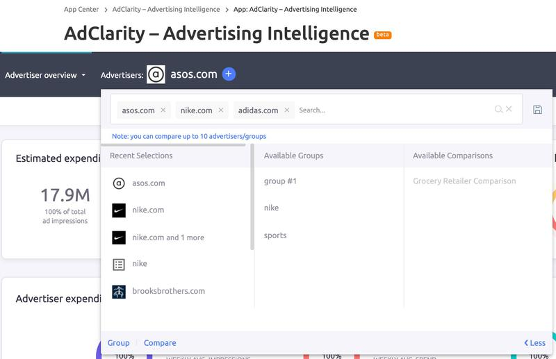 SEMrush: AdClarity – Advertising Intelligence: Get Insights on Competitors' Digital Ads, Spend and Impressions image 3