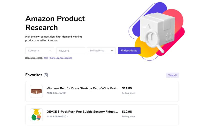 SEMrush: Free Product Research Tool: Find a Product to Sell on Amazon image 2